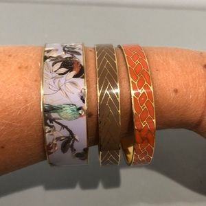 Set of 3 JCREW j.crew bangles!